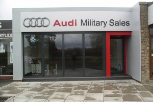 Audi Showroom- Lakenheath